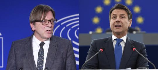conte strasburgo verhofstadt