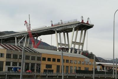 Ponte Morandi, gli effetti del crollo