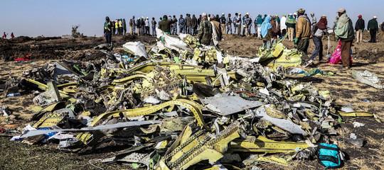 etiopia aereo precipitato boeing 737