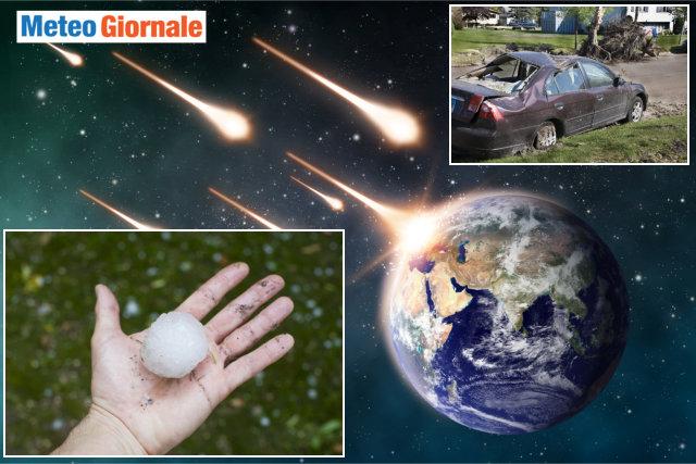 immagine 1 articolo meteorite in rotta sulla terra meteo estremo danni tangibili