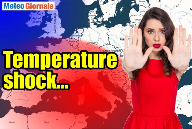 immagine 1 articolo meteo weekend caldo estremo e di nuovo temporali al nord