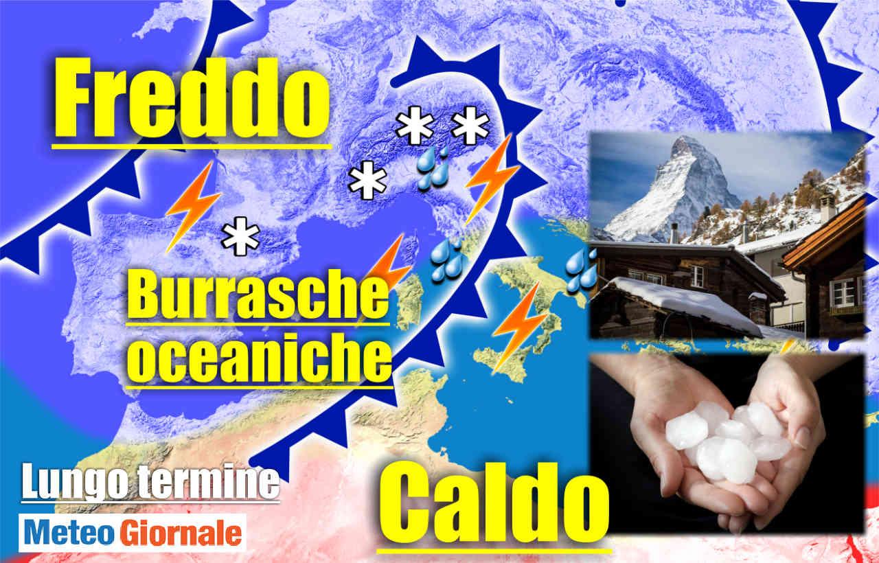 immagine 1 articolo meteo 15 giorni verso maltempo tipicamente autunnale