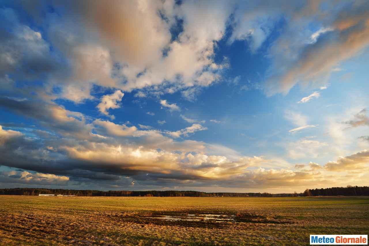 immagine 1 articolo meteo lunedi 28 primi cenni di peggioramento al nord italia