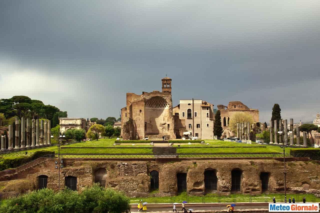 immagine 1 articolo meteo roma temporali a piu riprese nel weekend maltempo anche ad inizio settimana