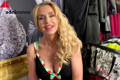Valeria Marini e il super debutto da sexy 'presidente''