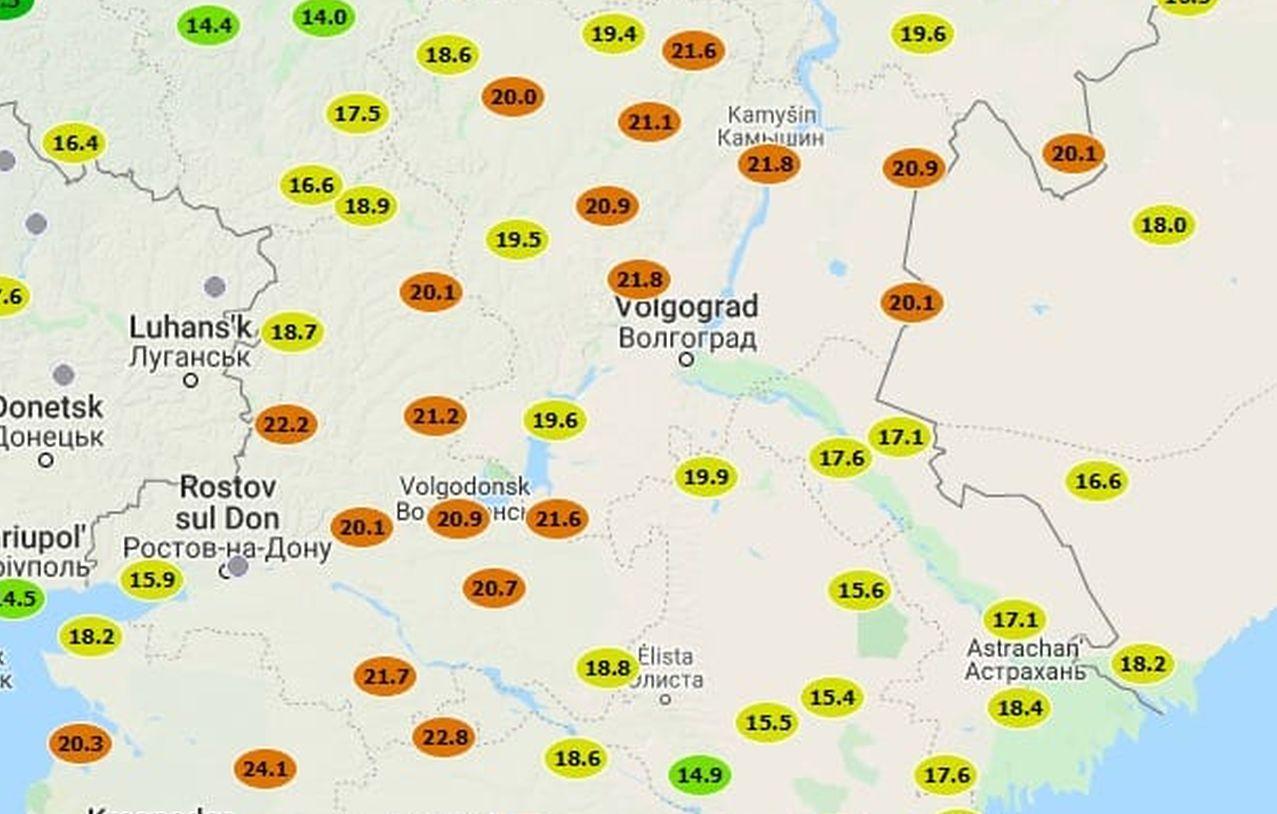 immagine 1 articolo volgograd stalingrado 21 gradi caldo record novembre