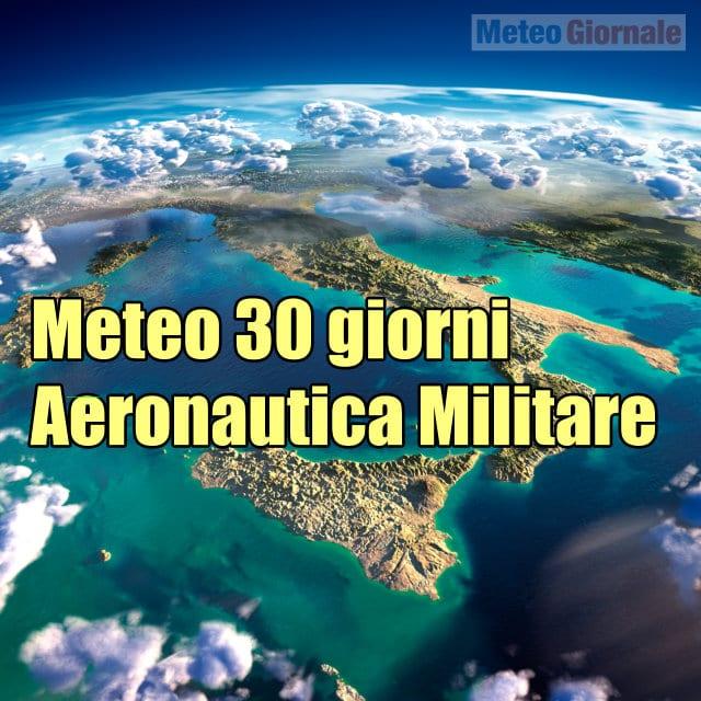 immagine 1 articolo meteo aeronautica 30 giorni bollettino integrale invernale