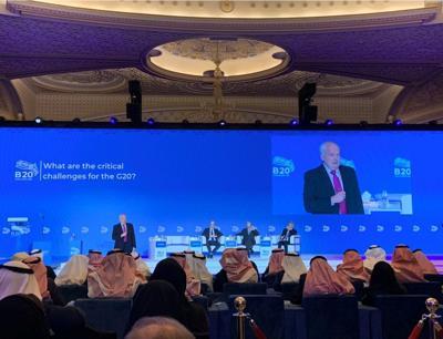 B20 in Arabia Saudita, focus su crescita inclusiva e sostenibilità