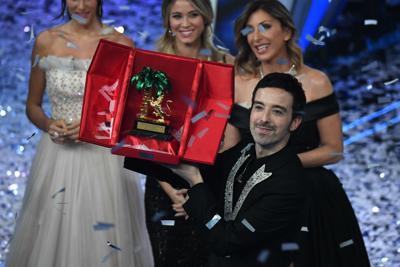 Sanremo, vince DiodatoSecondo Gabbani, Pinguini terzi