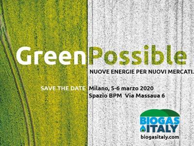 Biogas Italy 2020, 5-6 marzo a Milano