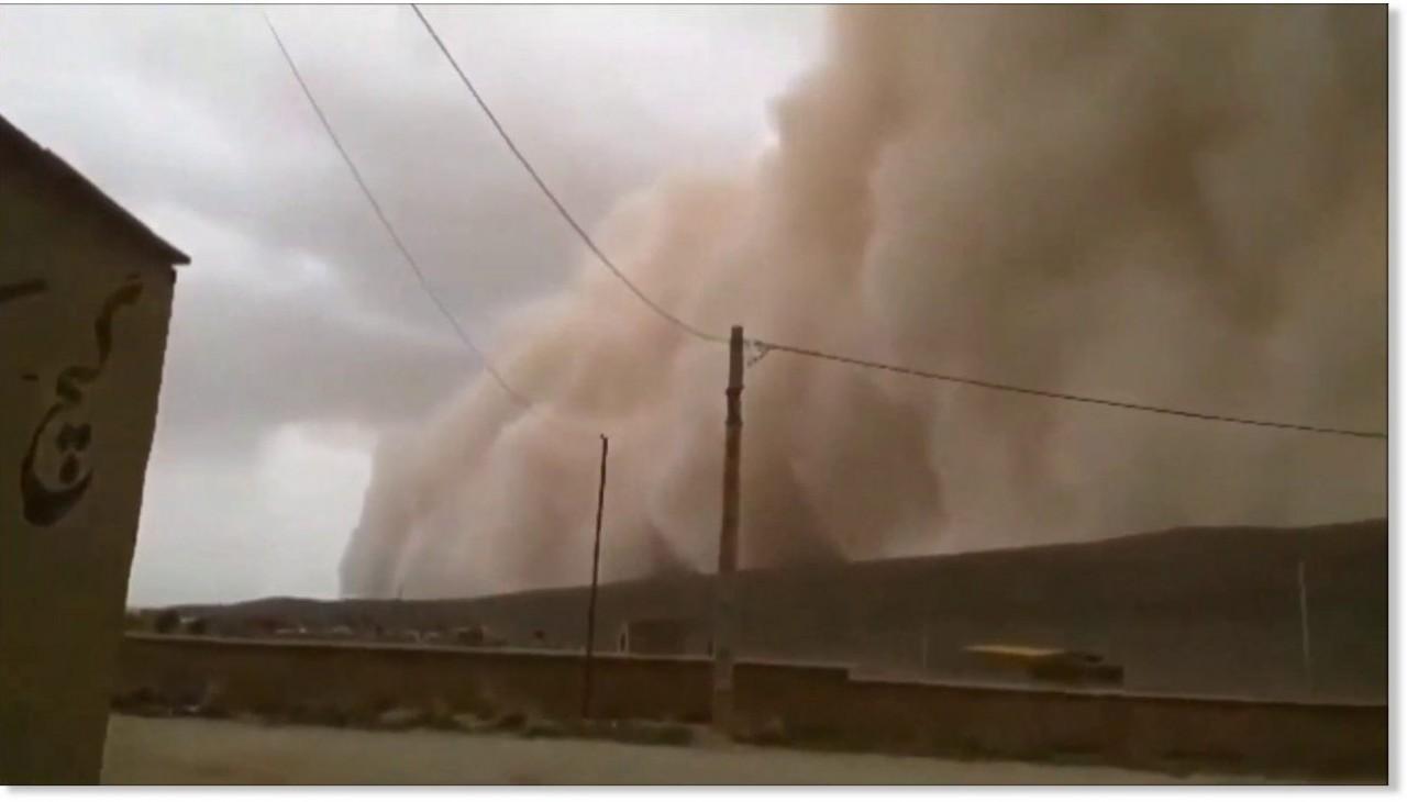immagine 1 articolo impressionate tempesta di sabbia video spettrale