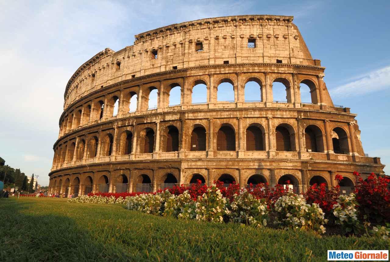 immagine 1 articolo meteo roma soleggiato e caldo persistente in accentuazione nel weekend