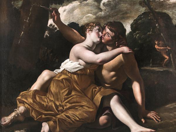 Giovanni Lanfranco, Il bacio di Angelica e Medoro