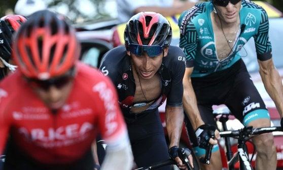 Ciclismo, Tour de France: Pogacar vince sul Gran Colombier, Roglic sempre più leader. Bernal alla deriva