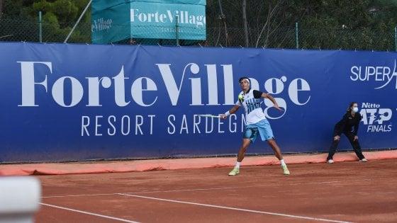 Tennis, Sardegna Open: Cecchinato conquista la finale, Musetti si ritira contro Djere