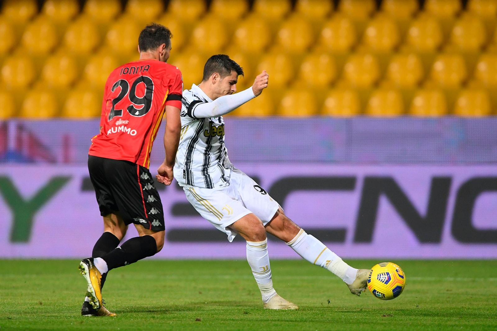 Morata non basta alla Juve, pareggio a Benevento
