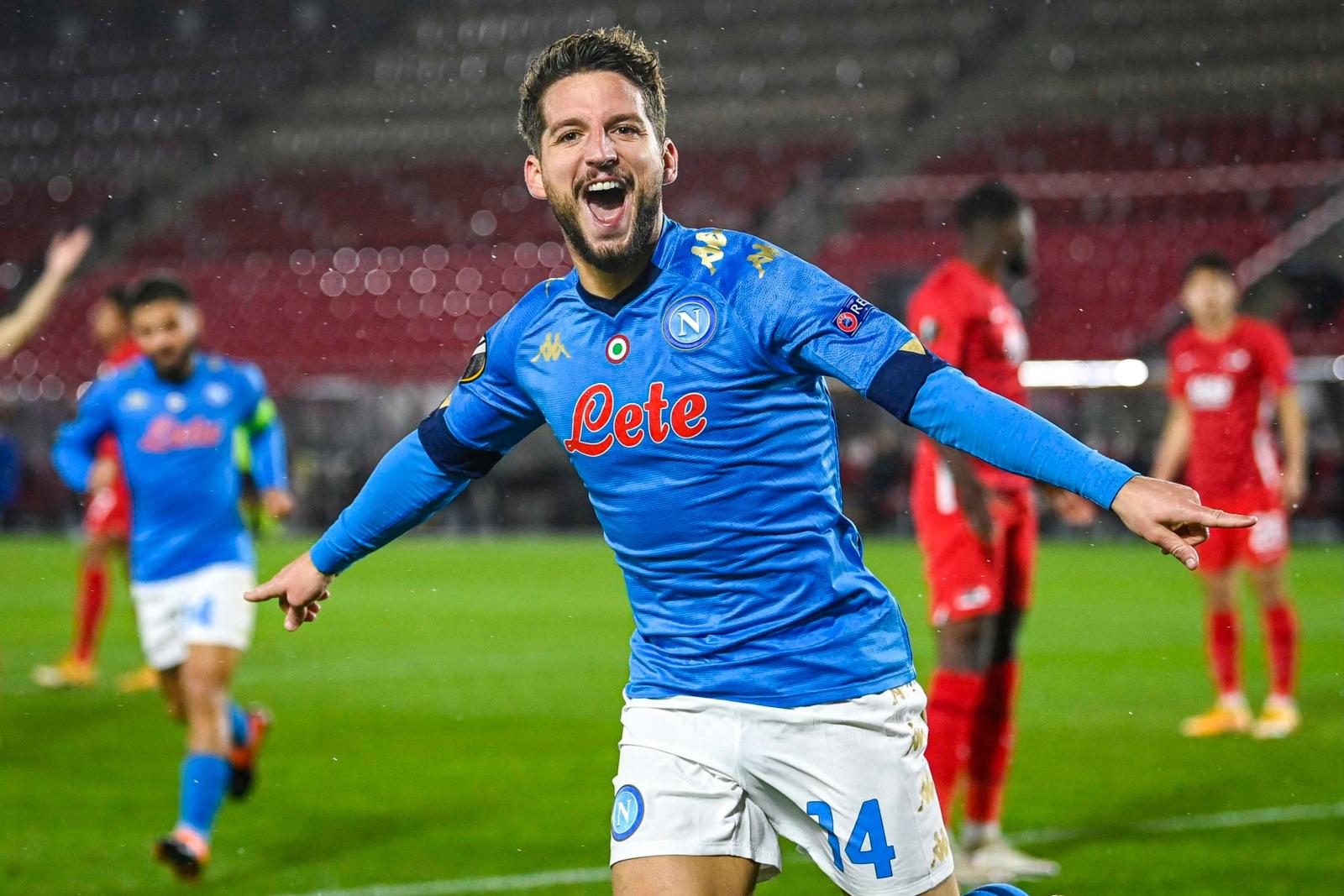 Europa League, al Napoli non basta il gol di Mertens contro l'Az Alkmaar