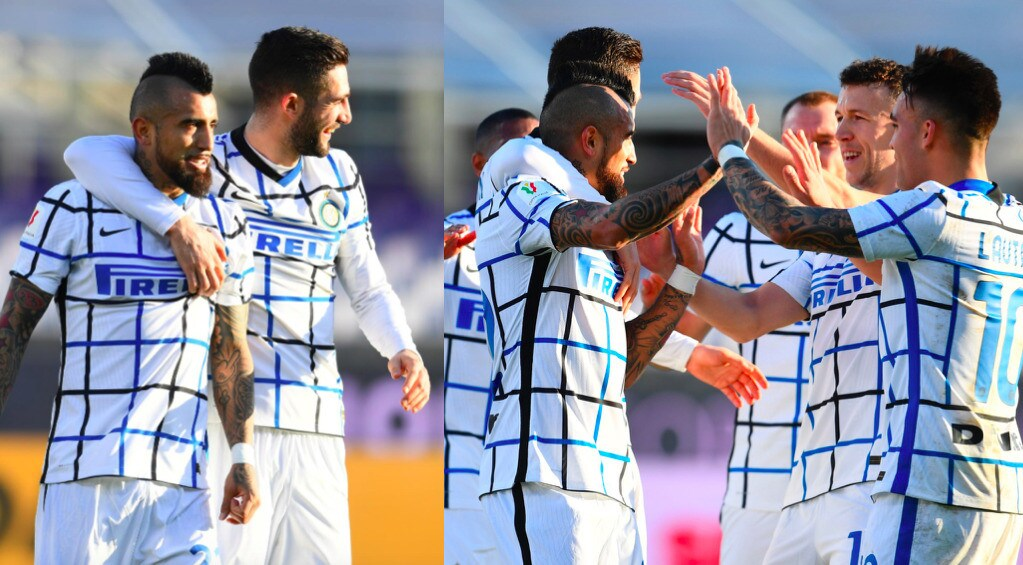 Vidal, primo gol con l'Inter. Poi ci pensa Lukaku: Fiorentina ko ai supplementari