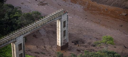 Il cedimento della diga diBrumadinhoin Brasile