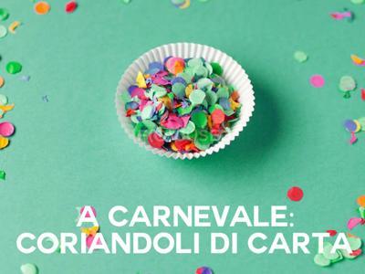 Dalle maschere alle stelle filanti, 5 regole per un Carnevale green