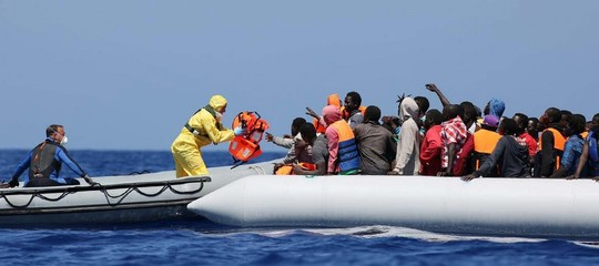 sbarchi migranti spagna ong
