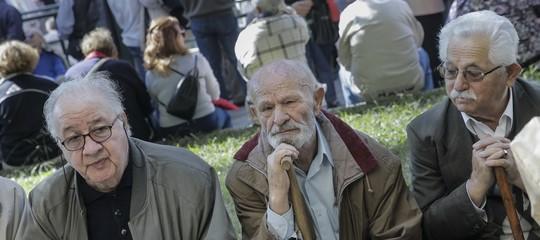 Istat: diminuiscono i pensionati (-23milanel 2017), reddito medio lordo 17.886 euro