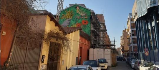 San Lorenzo rialza la testa. Con un murales