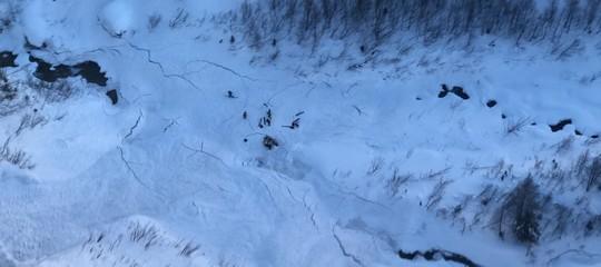 sciatori valanga valle aosta