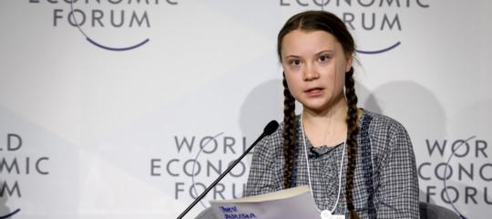 Greta Thunberg a Roma