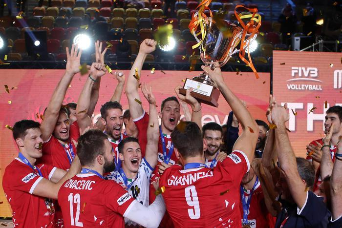 Pallavolo: Trentino vince la Coppa Cev