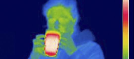 raggi infrarossi occhio umano