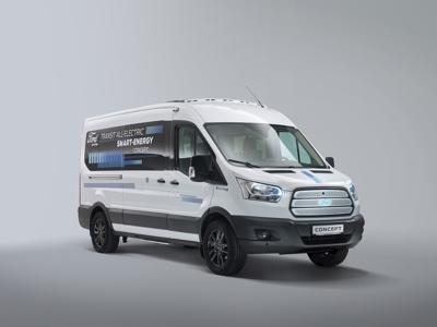 Ford, il futuro dell'elettrico nel Transit Smart Energy Concept