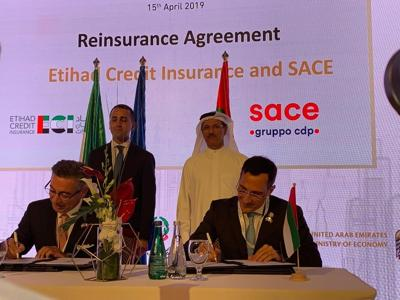 JIACC -ECI, intesa per rafforzare cooperazione economica tra Italia e Emirati Arabi Uniti